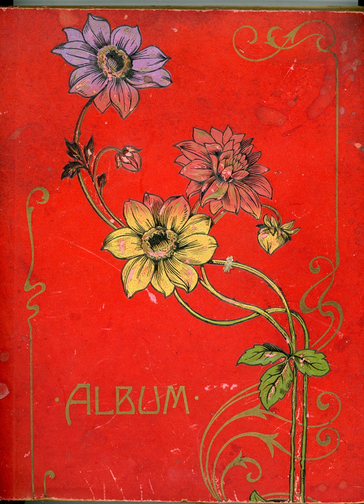 Fannie's Postcard Album Cover