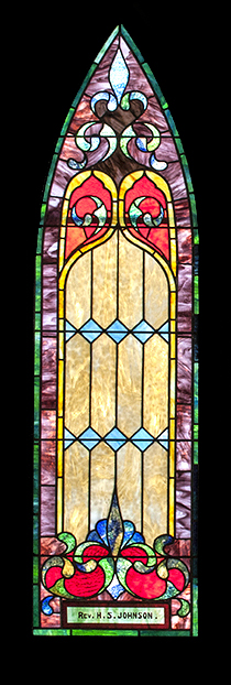 Rev. H. S. Johnson Window