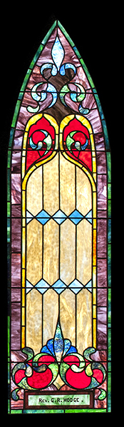 Re. George R. Hodge WIndow
