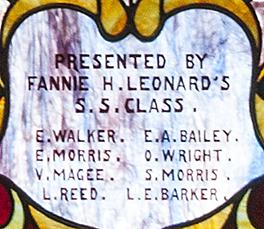 Fannie Leonard's Class