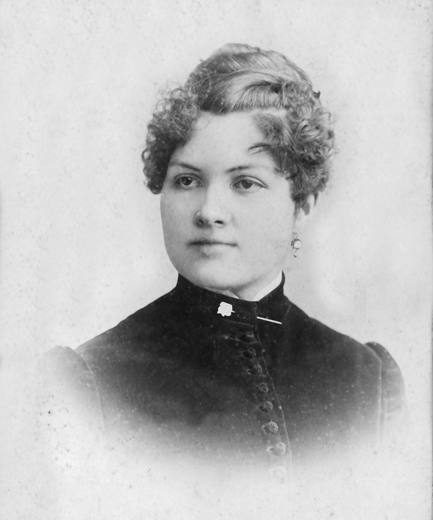 Mary (Mamie) Wolfe Brockinton ca. 1890