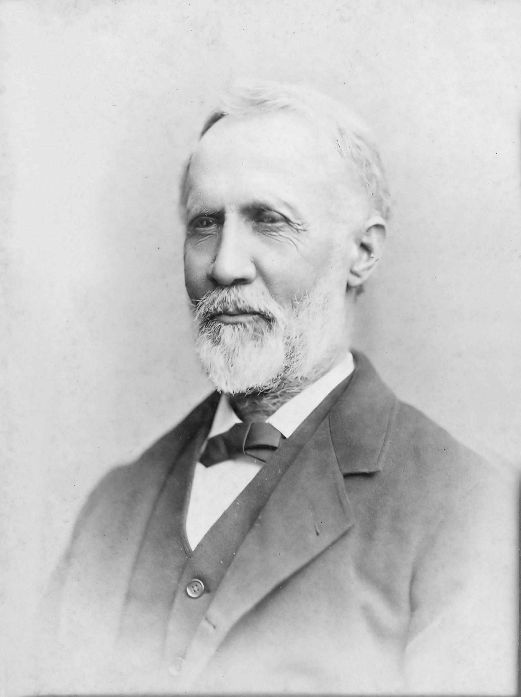 John Coard Hazzard, from a ca. 1885 cabinet card