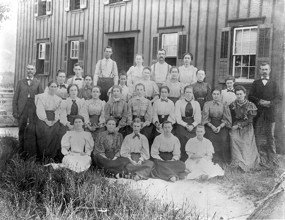 Douglass & White Shirt Factory ca. 1895