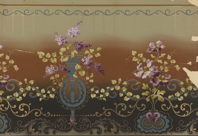Carey Bros. Wallpaper Fragment