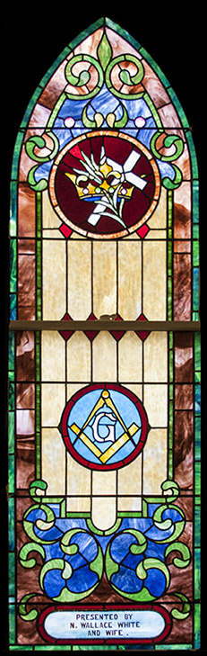 N. W. White WIndow