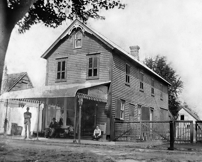 Winfield R. Wright's Store In Milton ca. 1901