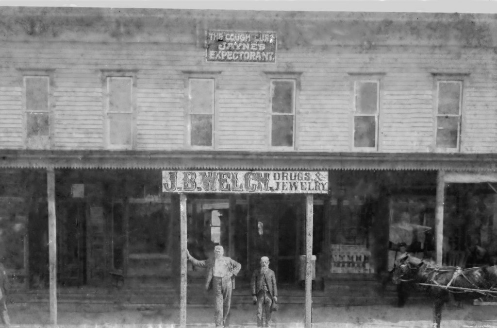 J. B.Welch Drugs and Jewelry Store, Union Street