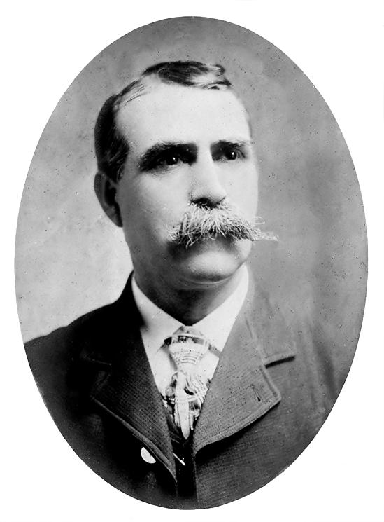 Hamilton K. Wagamon (1859 - 1935); undated photo, probably around 1900