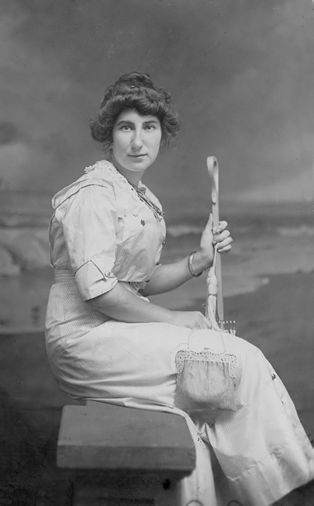 Mary E. King, wife of David A. Conner, probably taken between 1880 and 1890