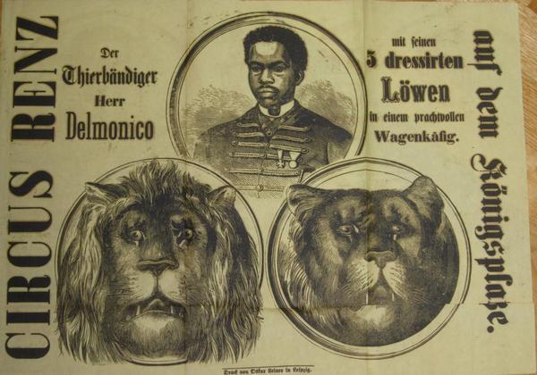 Delmonico Poster/Handbill, ca. 1875