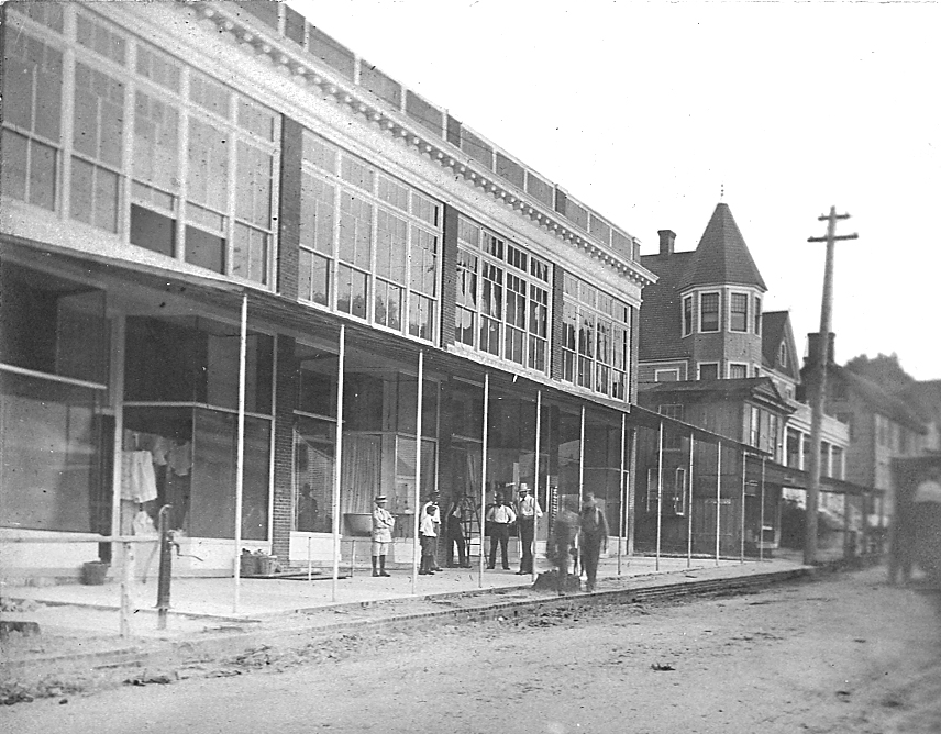 No. 101 - 107 Federal Street after 1909