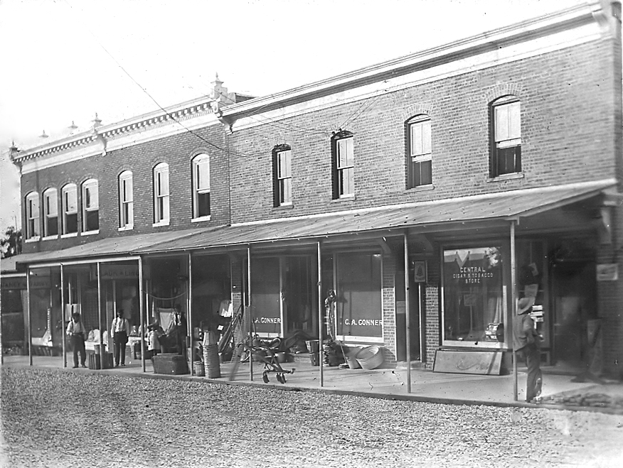 New buildings on Union Street, ca. 1910
