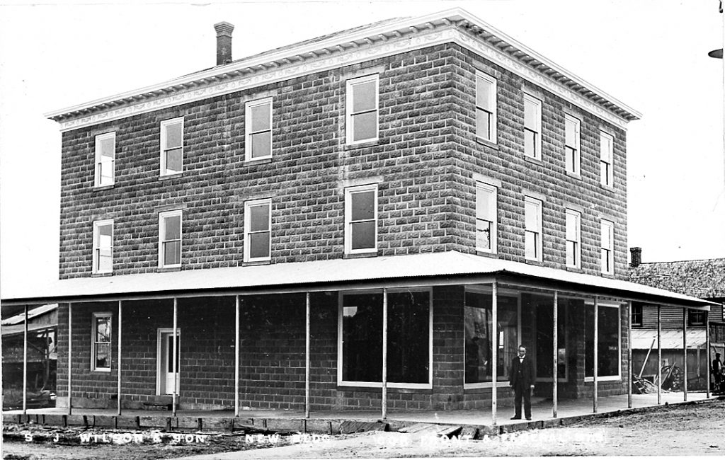 S. J. Wilson's New Building, ca. 1910