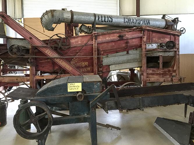 Ellis Champion Steam Powered Thresher-Separator ca. 1890