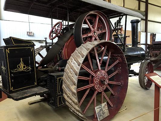 Steam Traction Engine, ca. 1890