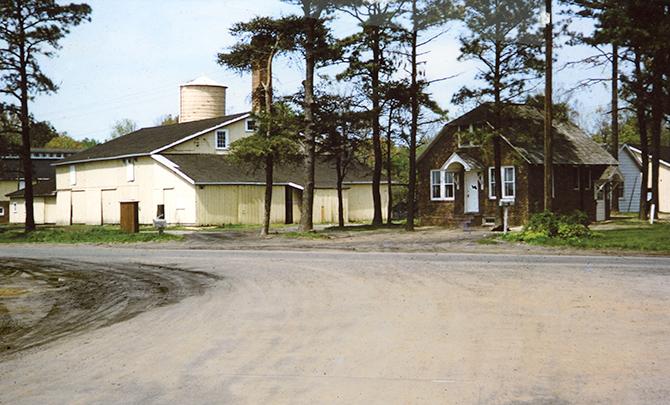 John S. Isaacs bean cannery ca. 1960