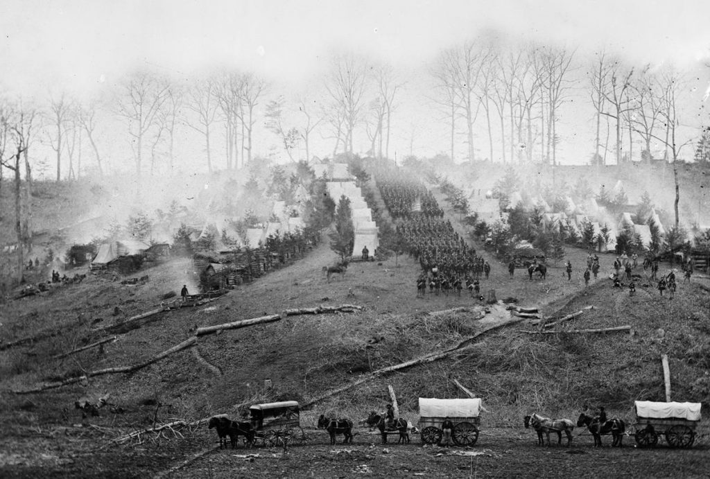 150th Regiment, Pennsylvania Volunteers Encampment 1862