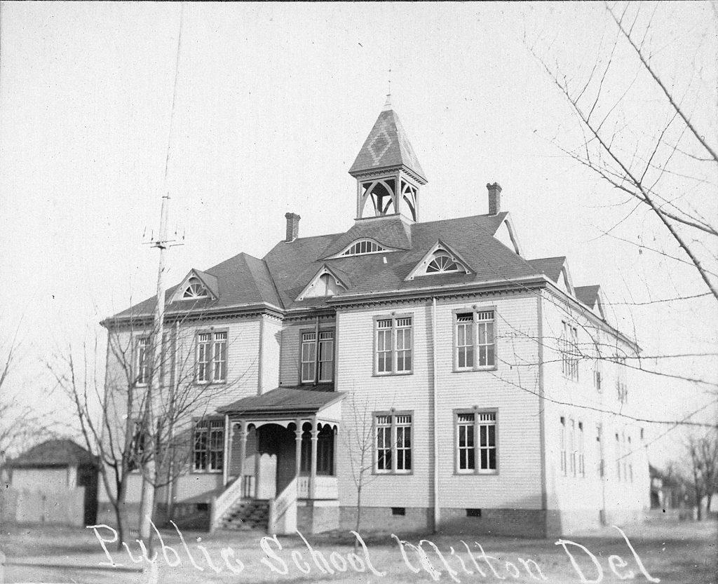 Milton Public School, ca. 1910
