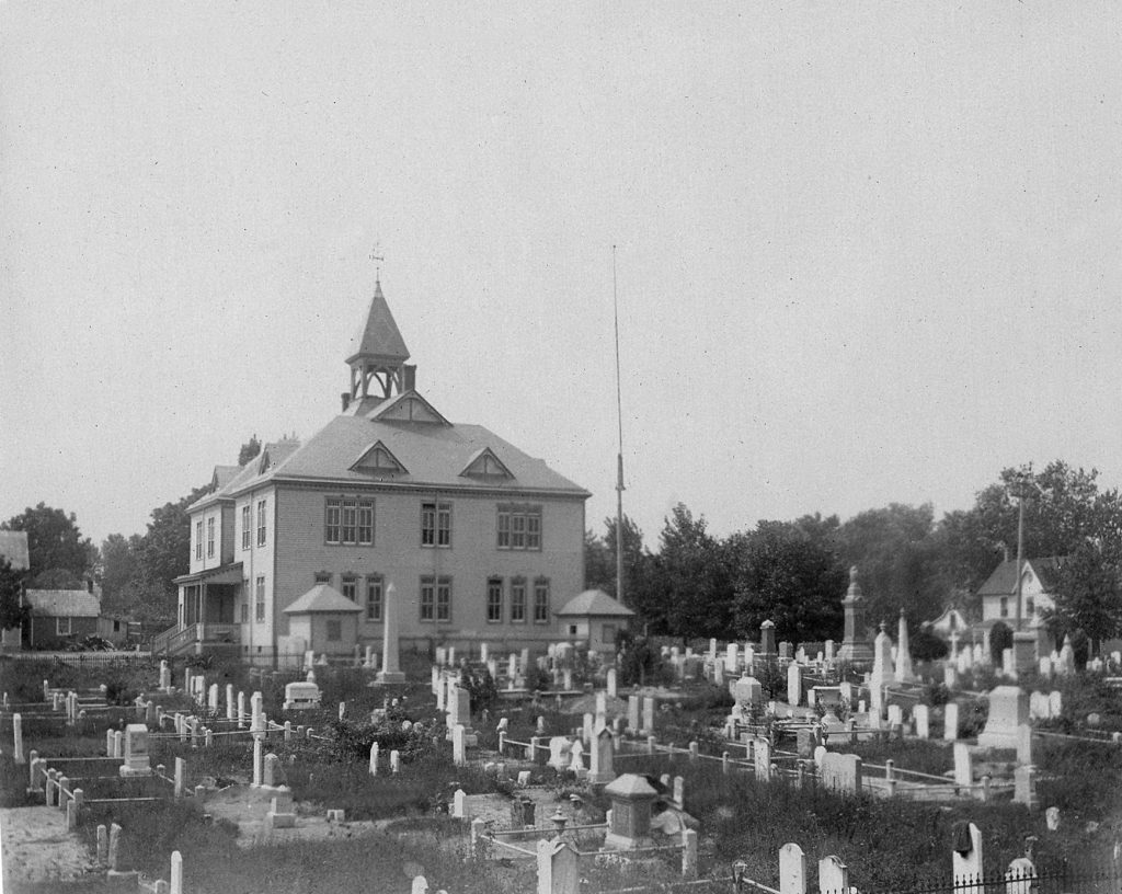 View of Milton Public School ca. 1910