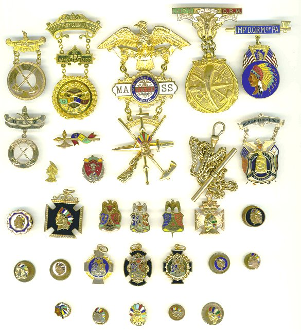 Fraternal Organization Pins - International Order of Red Men